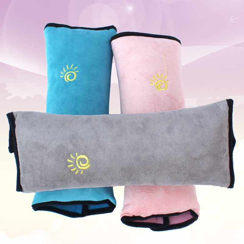 New Comfortable Soft Child Car Seat Safety Belts Pillow Car Seat Cover Protection Cushion Protect Shoulder & Neck Bedding Pillow