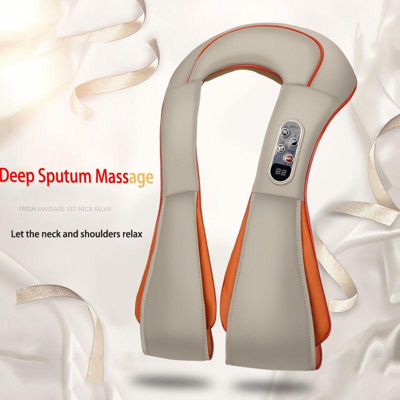 Hot Compress Massager-Neck-Shoulders-Lower Back Deep Relaxation