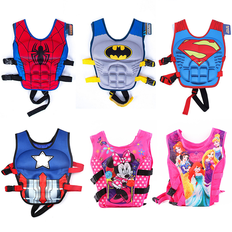 Kids Life Jacket Floating Vest Children Boy Swimsuit Sunscreen Floating Power Swimming Pool Accessories Ring Drifting Boating