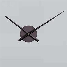 Zegar ścienny cichy ruch zestaw mechanizm zegara części z wskazówki zegara DIY mechanizm zegara kwarcowego czarny 9M21 tanie tanio GEMIXI Nowoczesne Quartz clock movement circular Z tworzywa sztucznego 000cm Pojedyncze twarzy 000mm 000g Zegary ścienne