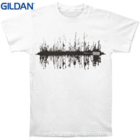 GILDAN Design T Shirt Men S High Quality Nine Inch Nails Men S Ghost Trees T