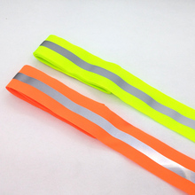 50mm x 15mm * 3 Meter / lot, Oxford reflective fabric sewing tape,sewn on reflective tape for clothing bags high visibility 3m reflective tape reflective cloth sewing clothing textiles bath diy safety reflective material one pc 1 meter