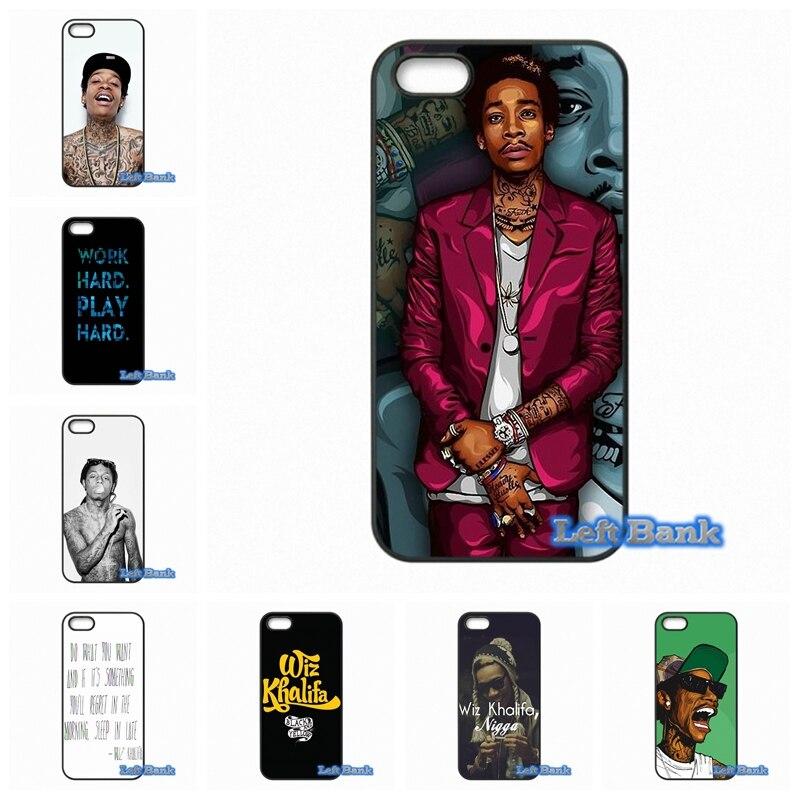 Wiz Khalifa Fundas para móviles para Samsung Galaxy nota 2 3 4 5 7 s S2 S3  S4 S5 mini S6 s7 borde 4c003bf5281c