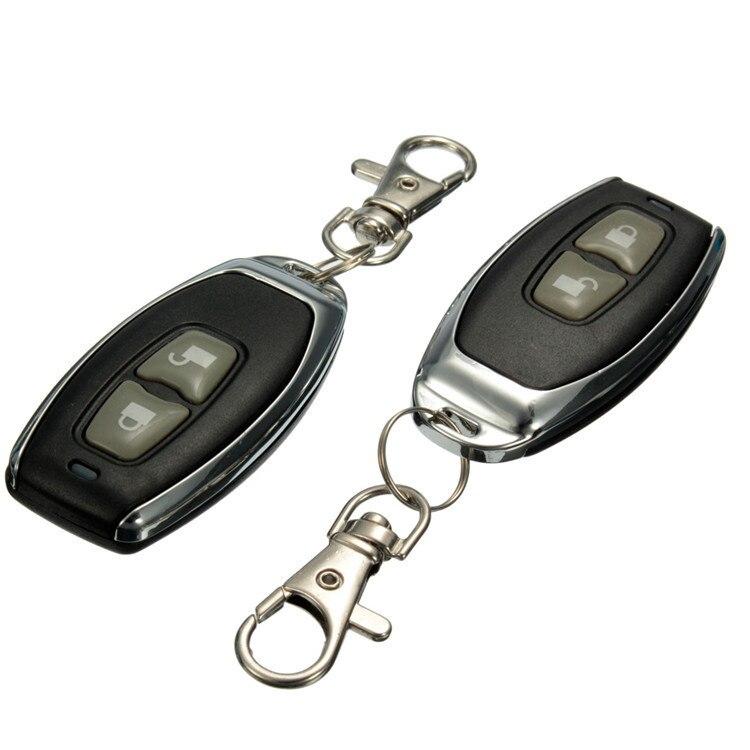 Centrale De Verrouillage D'alarme de Sécurité Kit Universel De Voiture Auto À Distance 4 Support De La Porte D'entrée Sans Clé Système 360 Degrés Rotation - 2