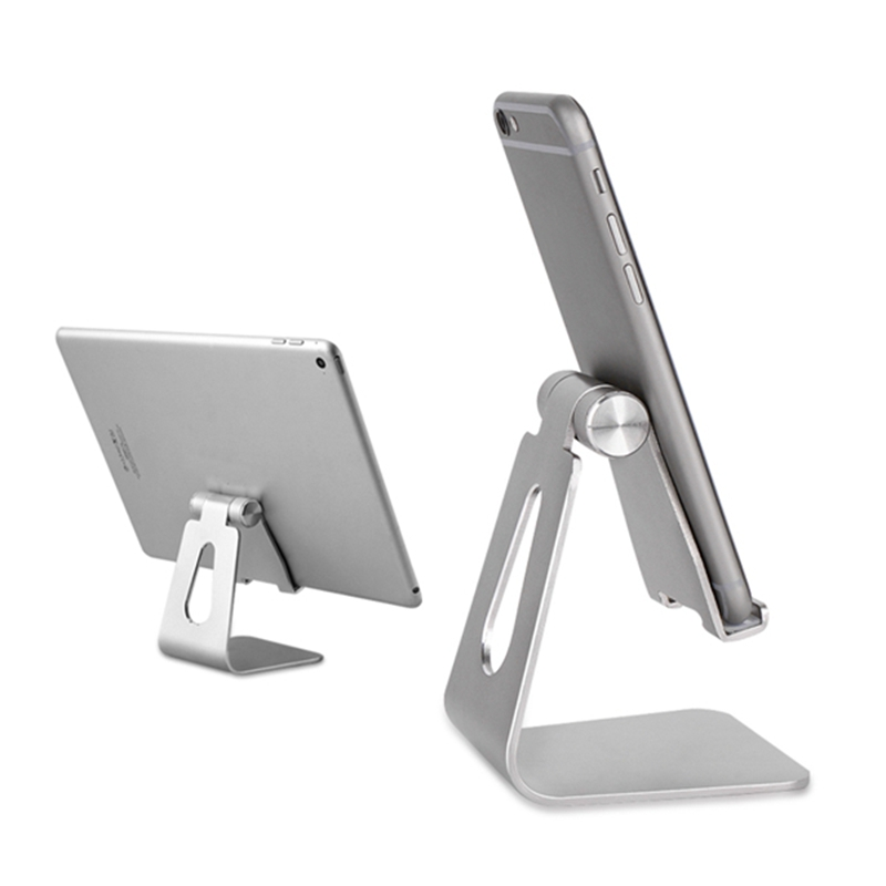 Universal Aluminum Tablet Holder Stand For iPad Anti Skid Adjustable Metal Tablet Stand Mount Holder For iPhone For Kindle aluminum alloy abs plastic multi functional holder adjustable stand table mounts for ipad tablet