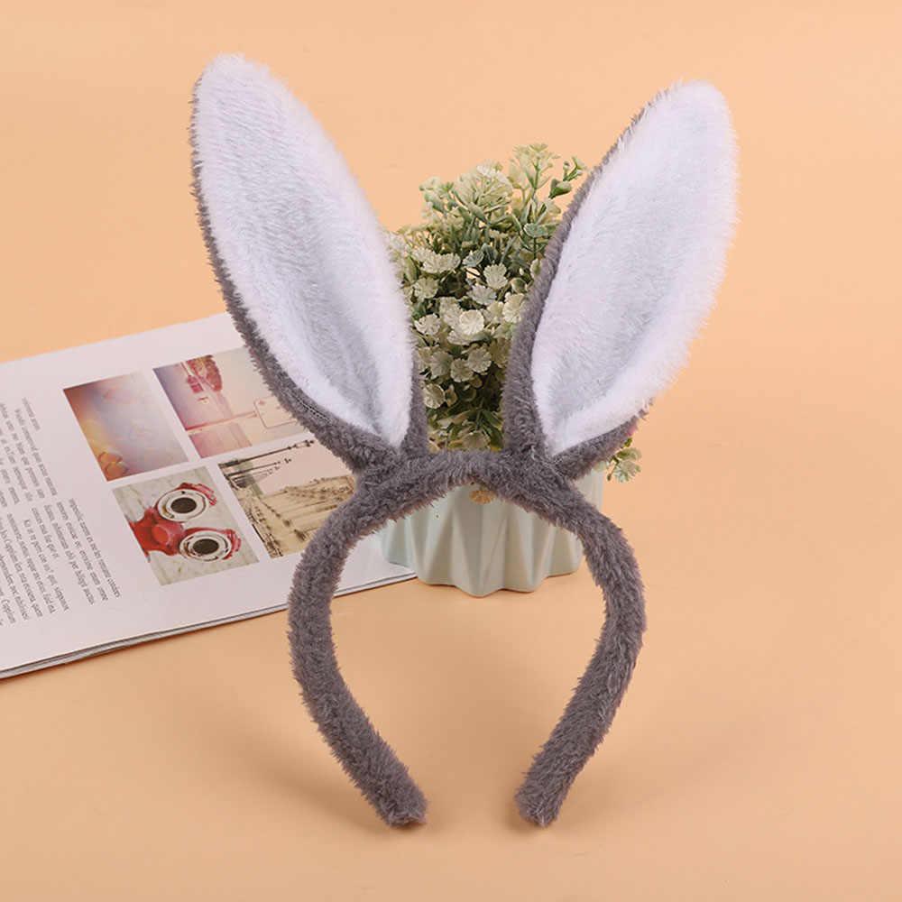 عيد الفصح الكبار الأطفال لطيف ومريح هيرباند أرنب سماعة أذن فستان بتصميم حالم زي الأرنب الأذن هيرباند إكسسوارات الشعر
