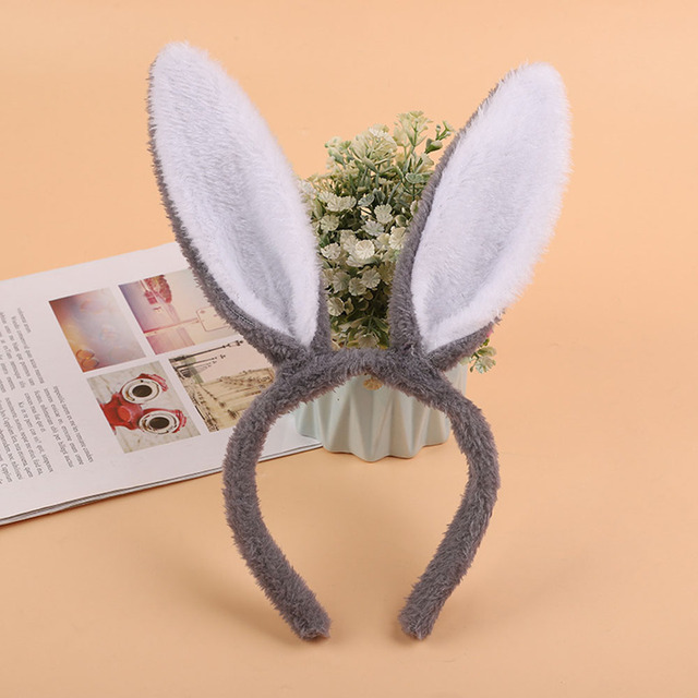 Easter Adult Children Cute and Comfortable Hairband Rabbit Ear Headband Fancy Dress Costume Bunny Ear Hairband
