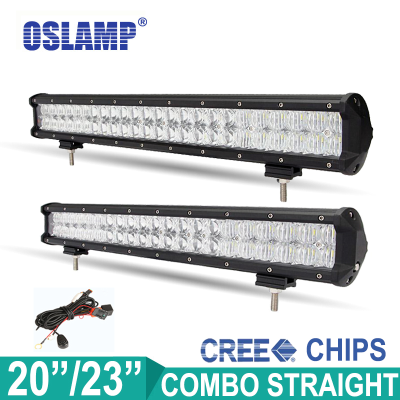 Oslamp 240W 210W CREE Chips 23 20 LED font b Light b font Bar OffRoad Work