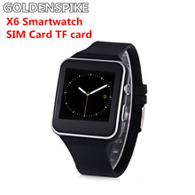 """Smart Watch X6 For Men Android Phone 1.54"""" HD OGS Wrist Bracelet Support Max TF Card 32GB Sim Bluetooth Smartwatch"""