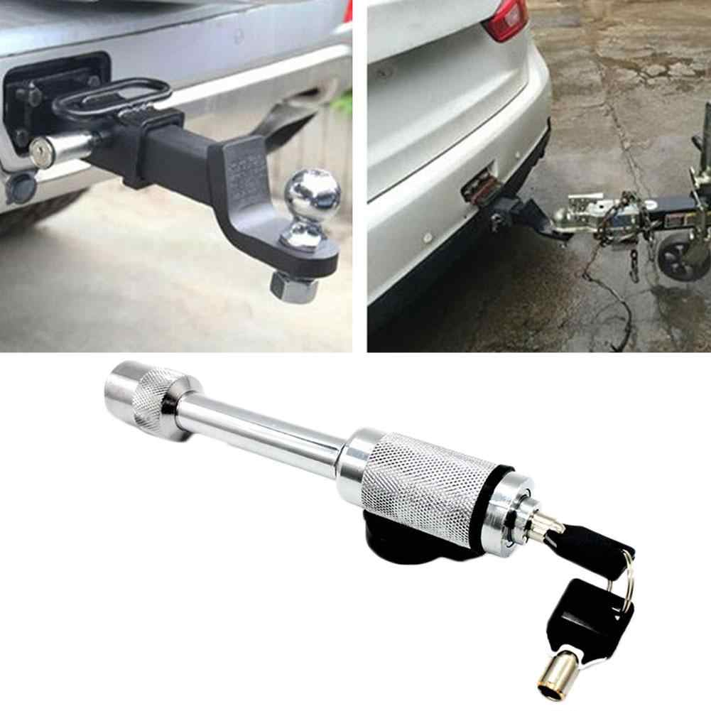 Stainless Steel Trailer Hitch Locking Pin Tow Hitch Receiver Anti-theft Latch Locking Rust-proof For Trailers Saloon Cars Houses