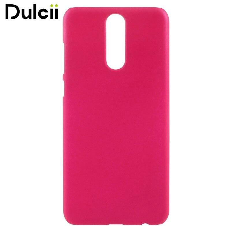 DULCII for Huawei Mate 10Lite Case Glossy Rubberized PC Hard Back Coque Cover for Huawei Mate 10 Lite / nova 2i - 5.9