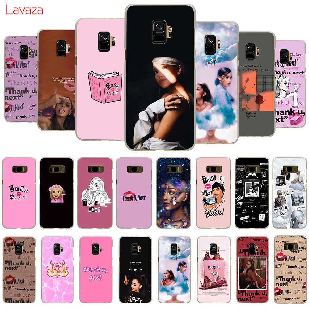 Lavaza Ariana Grande Thank U Next Hard Phone Case for Samsung Galaxy A10 A30 A40 A50 A70 M10 M20 M30 Cover