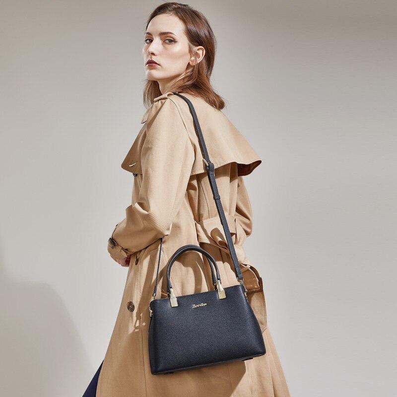 ZOOLER 2018 woman leather bag bags handbags women famous brands luxury genuine leather bag shoulder bags designed bolsos #T502
