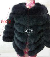 Women Fur Coat Fox Real Natural Winter Genuine Natural Women Fox Fur Coat With Fur Vest Girl Coat Womens Vests Fox Coats DHL