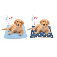 Pets Dog Cooling Mats Blanket Ice Dogs Bed Sofa Portable Tour Sleeping Mat Cushion For Cats Pet Accessories summer dog cooling mats cat blanket ice pet dog bed mats for dogs cats sofa portable tour camping yoga sleeping pet accessories