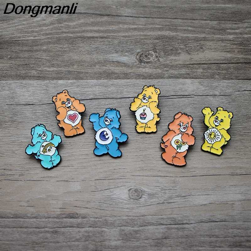 Detail Feedback Questions about L2712 Cute care bears Enamel Pins