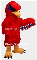 Талисман плюшевые красный Hawk талисмана Орел Сокол обычай Необычные костюмы аниме косплей Mascotte тема маскарадный карнавальный костюм
