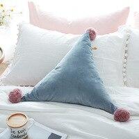 Hot Sale 1pcs 50CM Size European Style Cushion And Pillow For Office Chair Back Cushion Sofa Throw Pillow TSU029