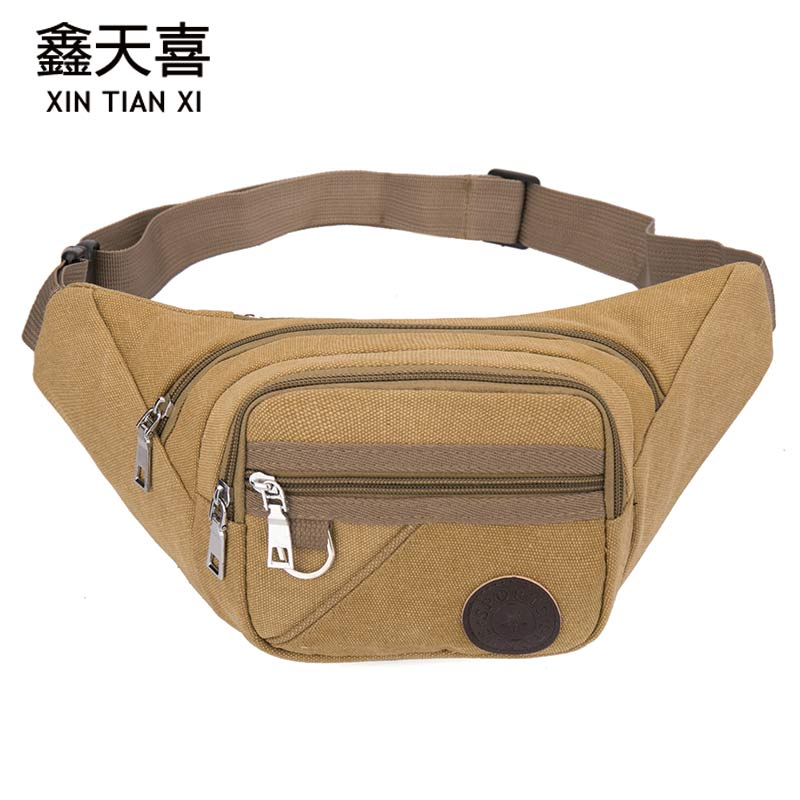 Waist Bag For Men Women Multifunction Nylon Bum Bag Heuptas Waist Bags Mobile Phone Wallet Travel Pouch Banane Sac Waist Packs