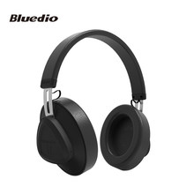 Bluedio TM Bluetooth Headphone with Mic BT 5.0 Over ear Wireless Studio Headset Foldable Headphone for Mobile Phone(China)