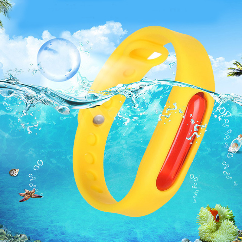 Silicone Wristband Summer Mosquito Repellent Bracelet Anti-mosquito Band Effective Children Environmental Protection
