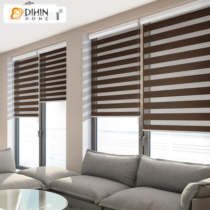 Whole Sale High Quality Window Shade Roller Blinds Zebra Blinds Rainbow Blinds Customized Size China