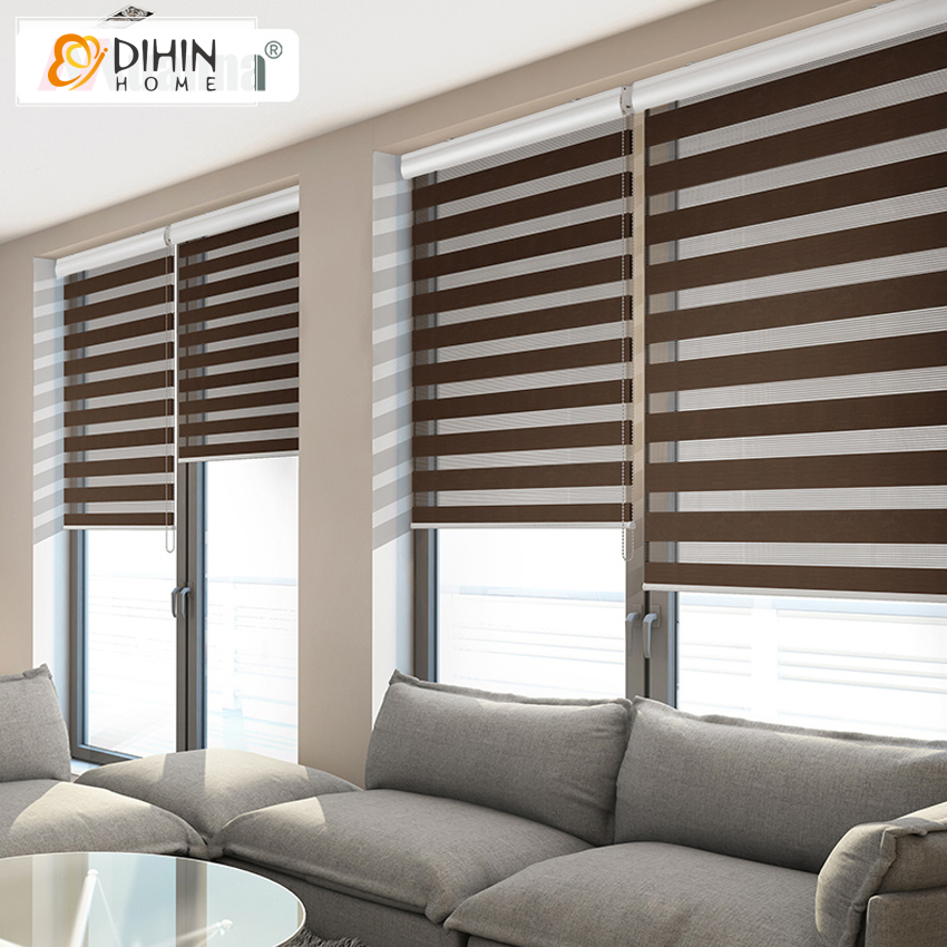 Whole Sale High Quality Window Shade Roller Blinds Zebra Rainbow Customized SizeChina