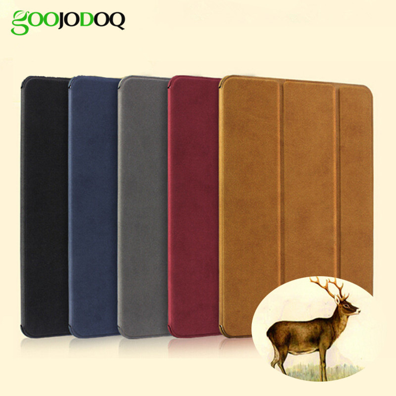 Funda para iPad Air 2 / Air 1 Funda inteligente de cuero mate magnético para iPad Air Funda Soporte Flip Auto Wake / Sleep para iPad 5/6 Funda
