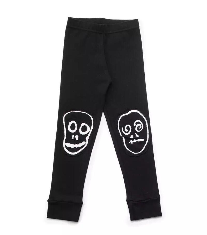 2018 Summer bobo chosese CLOTHING VESTIDOS DRESS FOR GIRLS clothing boys clothing kids nununu skull star pants leggings kids c