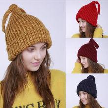 362566b88a7 Bubble Knit Slouchy CC Baggy Beanie Oversize Winter Hat Ski Cap Skull  Women(China)