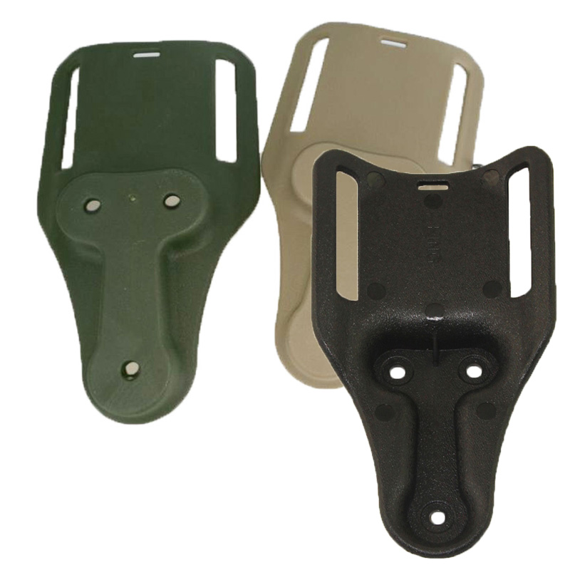 Tactical IPSC Holster Paddle For Glock 17 19 22 23 31 32 Colt 1911 M9 USP M92 P226 Gun Accesseries Hunting Pistol Holster Loop