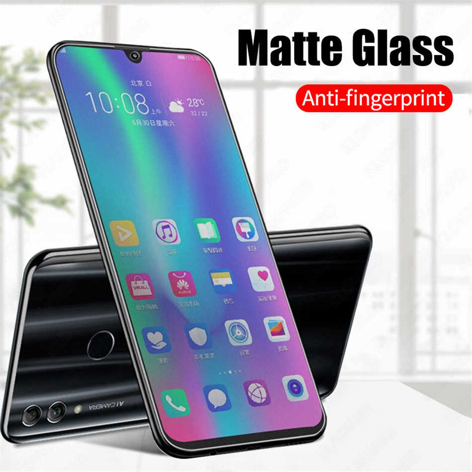 9H Matte Screen Protector Film For Huawei Mate 10 9 P10 P20 Lite Pro Frosted Tempered Glass For Honor 10 9 Lite