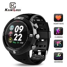 Купить с кэшбэком Fitness Bracelet IP68 Waterproof 3D Ball Color Screen Heart Rate Monitor Pedometer Sports Smart Watch Men for Android IOS Phone