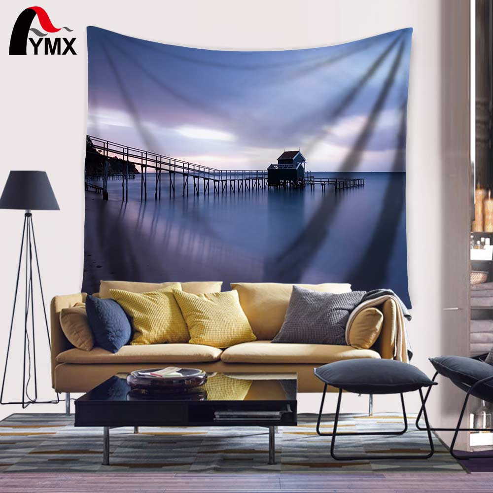 Malam Chill Beach Canvas Print Wall Art Tapestry 150X130 / 200CM - Tekstil rumah - Foto 6