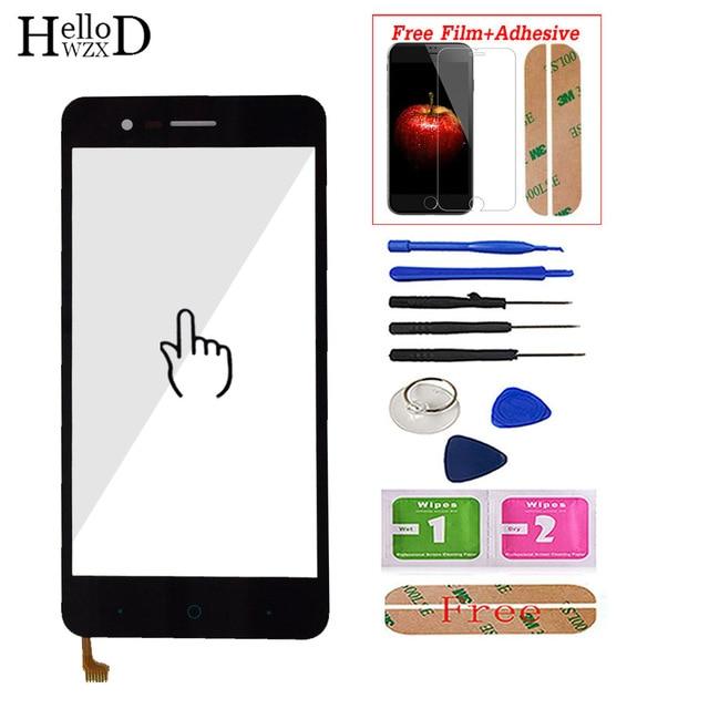 מסך מגע עבור ZTE להב A510 BA510 BA510C נייד טלפון קדמי מסך מגע זכוכית Digitizer פנל חיישן + מסך מגן