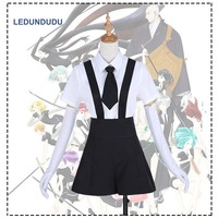 Anime Houseki No Kuni Cosplay Phosphophyllite Shirts Uniform Land Of The Lustrous Bort Diamond Summer Rompers