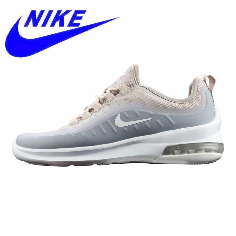 38e54d72 Новое поступление, женские кроссовки Nike Air Max Axis, серый и белый,  амортизирующие дышащие