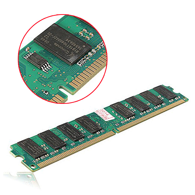 2GB DDR2 533Mhz PC2 6400 240 Pin For Desktop RAM Memory EM88
