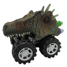 Kids Toys Pull back Dinosaur Model Mini Toy Car Hobby Animal Vehicle for Boys Children Education Toys Collection Christmas Gift