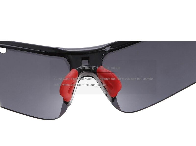 Kdeam altamente funcional polarizado óculos de sol