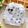 2016 newborn baby boy and girl coat children's clothing brand cartoon 100% cotton jacket high quality Free shipping 1-2 years