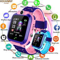 Q12 Smart Phone Watch for Children Student 1.44 Inch Waterproof Student Smart Watch Dial Call Voice Chat Smartwatch Sports PKQ50
