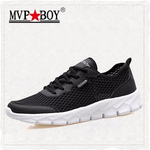 MVPBOY Brand Unisex Large Size Breathable Men Casual Shoes Mesh Fashion Walking Shoes,Summer Style Lightweight Outdoor Men Shoes