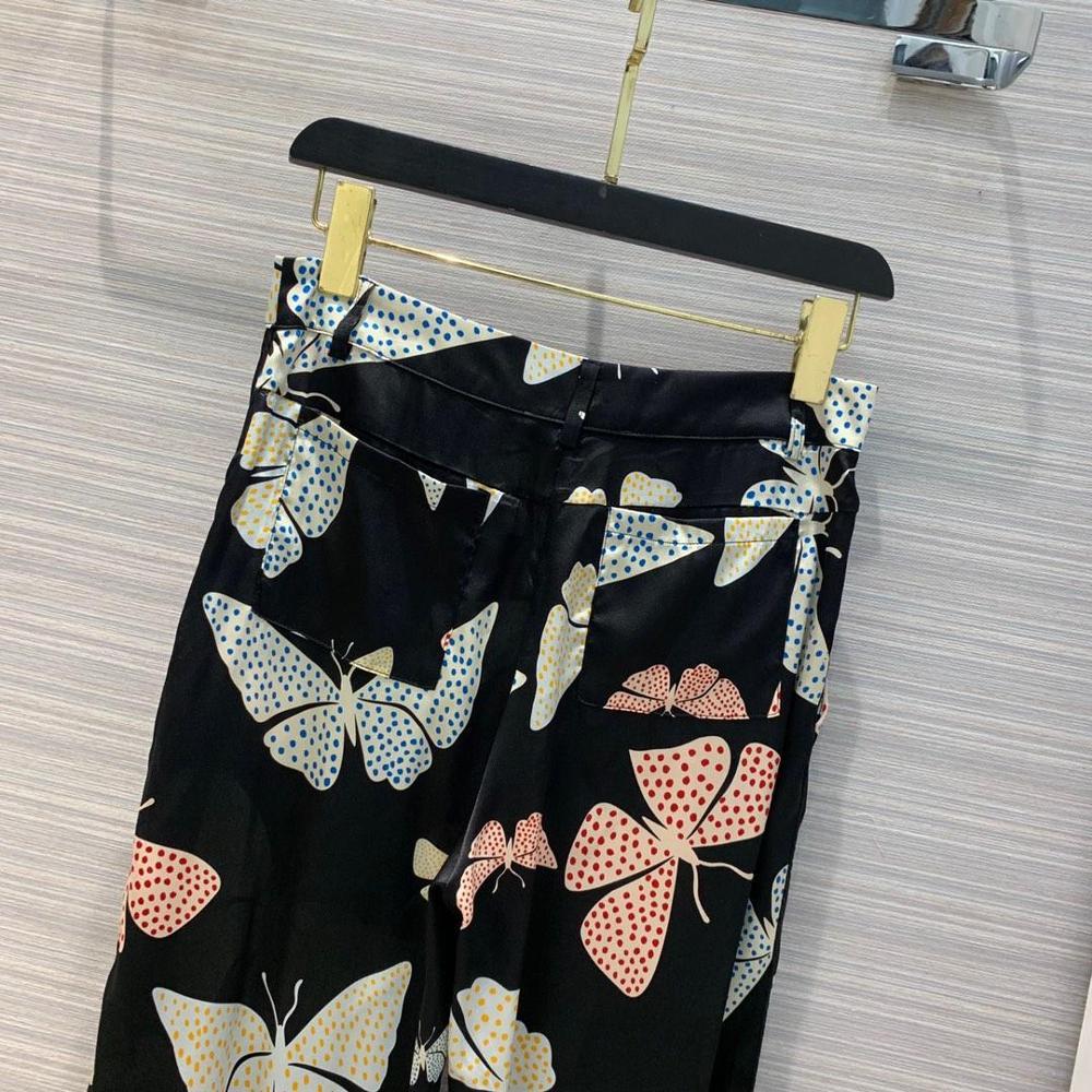 Mujeres Pantalones Bragas Rmsx 25 Moda Casual 3 Huellas 2019 La De Seda Las Primavera Z8wPt4nZq