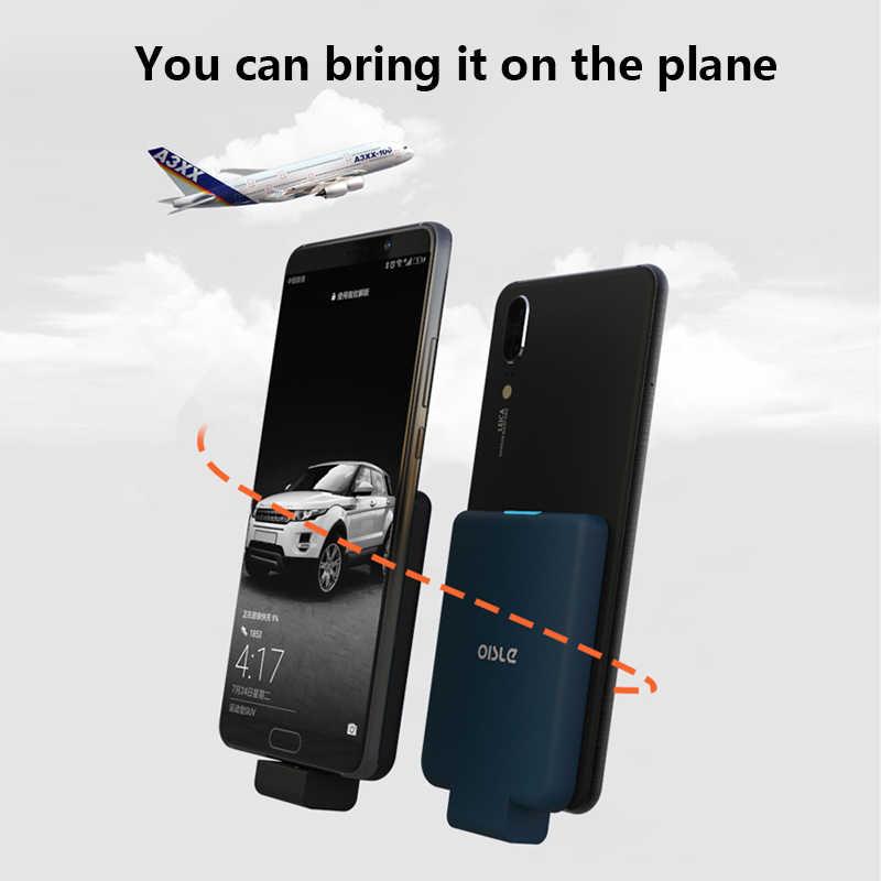 المحمولة شاحن بطارية خارجية حزمة ل سامسونج هواوي Xiaomi شاحن طاقة ضئيلة شاحن بطارية حقيبة لهاتف أي فون 6s 7 8 X XS ماكس
