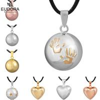 Guardian Angel Pendants Chime Jewelry Harmony Bola Mexico Ball Baby Caller Pendant Necklace