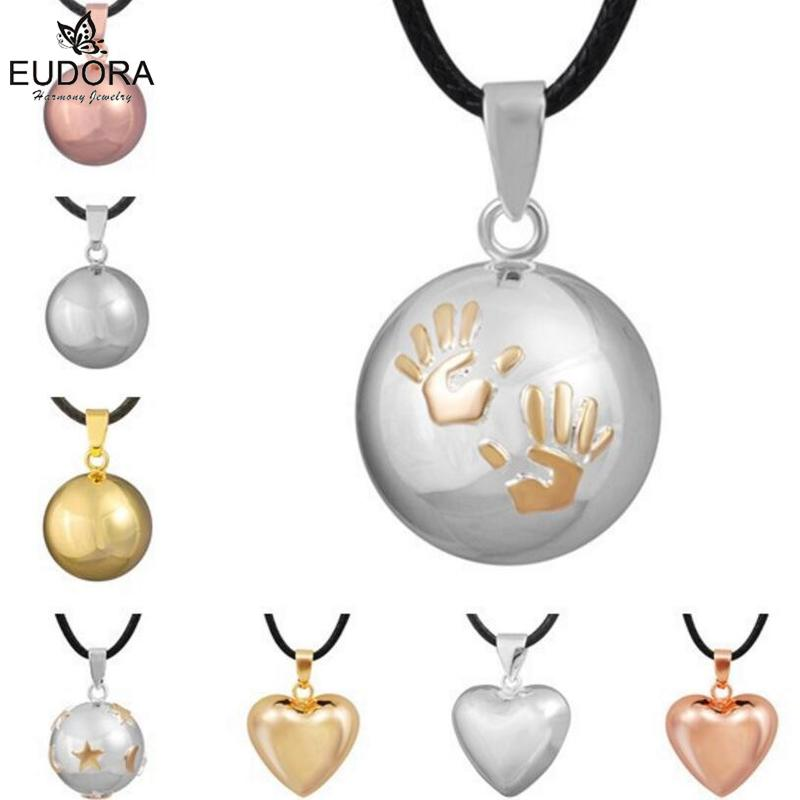Guardian Angel Pendants Chime Ball smykker Eudora Harmony Bola Mexico Ball Baby Angel Caller Anheng Halskjede Gravid gave