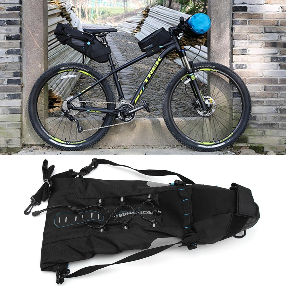 New Arrival 10L Waterproof Bike Tail Bag Seat Rear Saddle Pouch Black Outdoor Cycling Accessory sa212 saddle bag motorcycle side bag helmet bag free shippingkorea japan e ems
