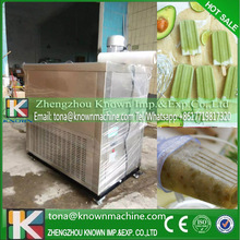 Export EU digital display ice lolly making machine popsicle with 4 moulds