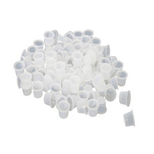 100 PCS/Bag Small Size 8mm Plastic Tattoo Ink Cap Cups Supply